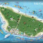 Cozumel Tourist Map   Printable Map Of Cozumel Mexico
