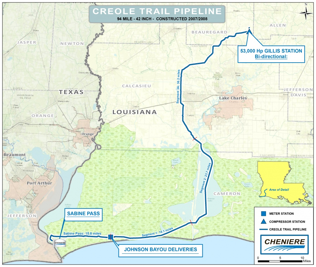 Creole Trail Pipeline | Cheniere Energy - Florida Gas Pipeline Map