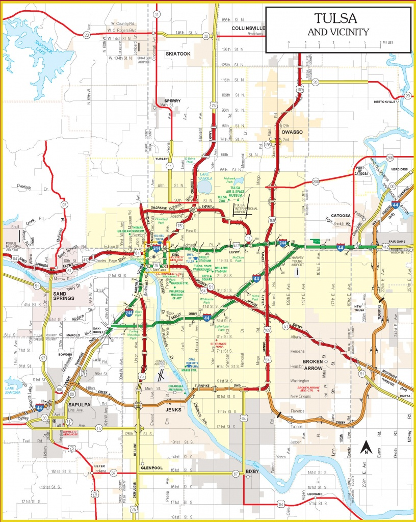 Current Oklahoma State Highway Map - Oklahoma State Map Printable
