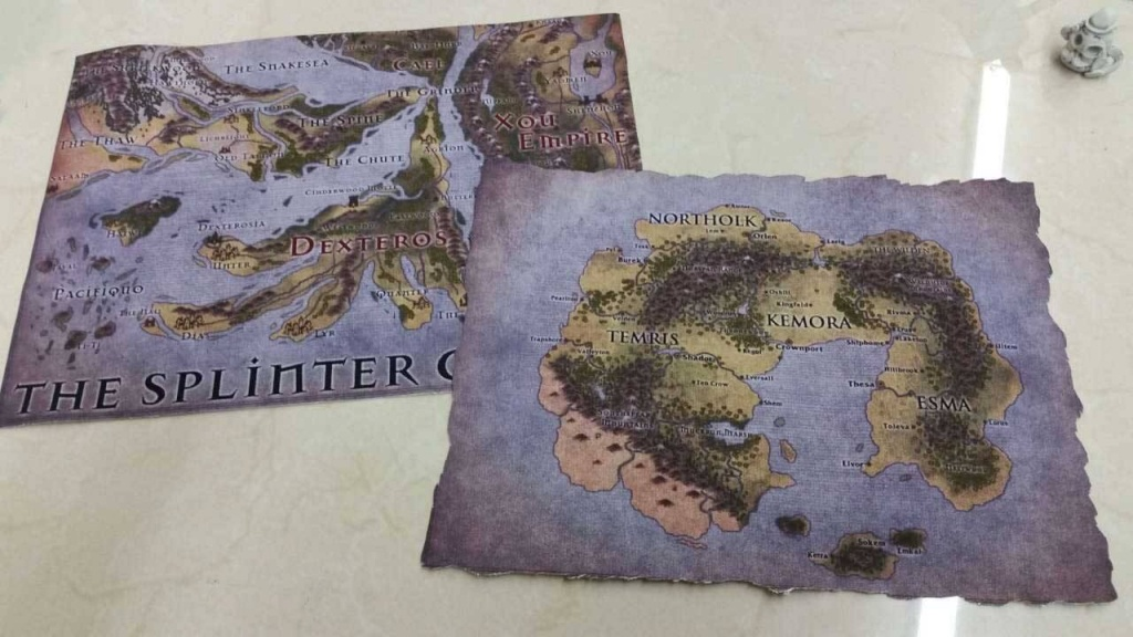 Custom Game Cloth Map Rpg Printing Service - Geekify Inc - Custom Printable Maps