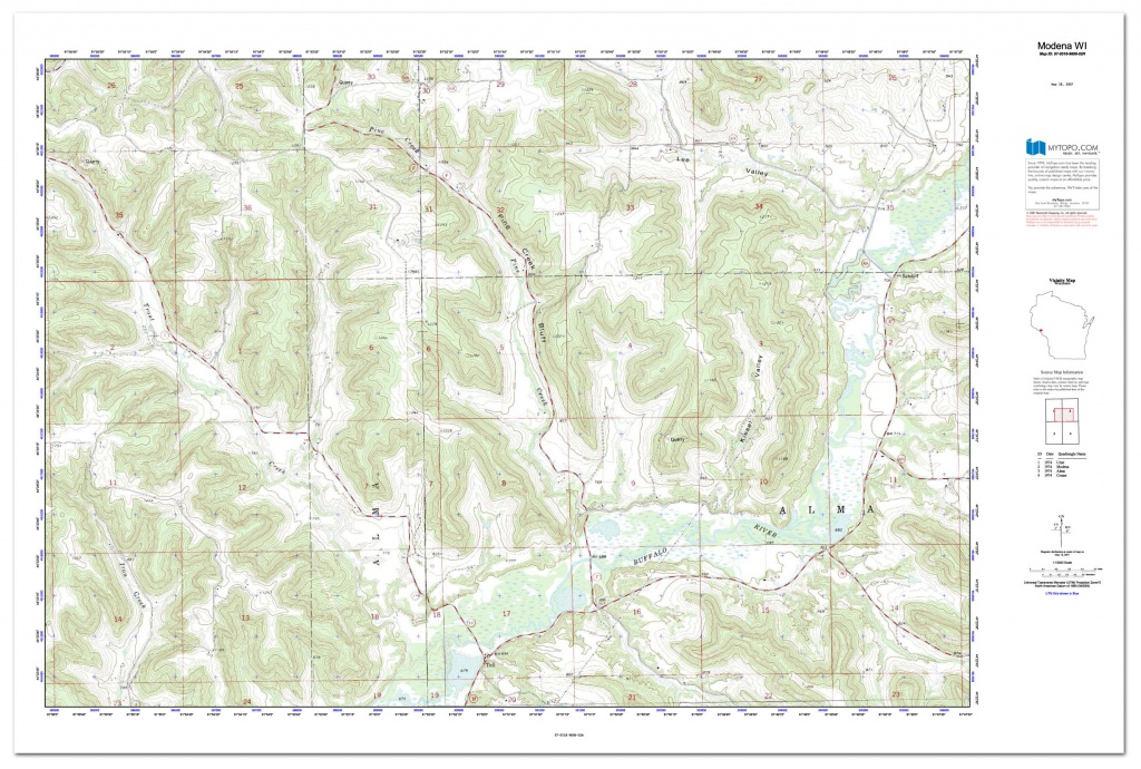 Custom Printed Topo Maps - Custom Printed Aerial Photos - Printable Usgs Maps