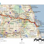 Cycling Routes Crossing Florida   Cocoa Beach Florida Map