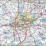 Dallas Area Road Map   Printable Map Of Dallas Fort Worth Metroplex