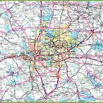 Dallas Area Road Map   Printable Map Of Dfw Metroplex