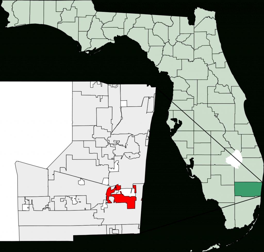 Dania Beach, Florida - Wikipedia - Sun City Florida Map