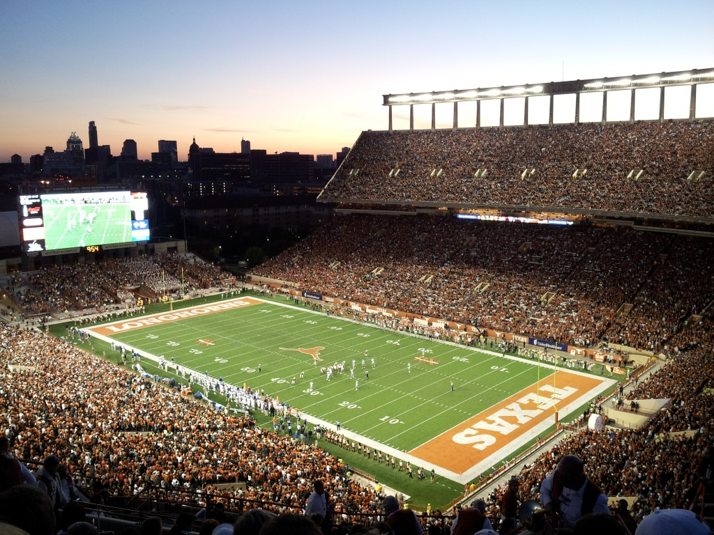 Darrell K Royal–Texas Memorial Stadium - Wikipedia - Dkr Texas Memorial Stadium Map
