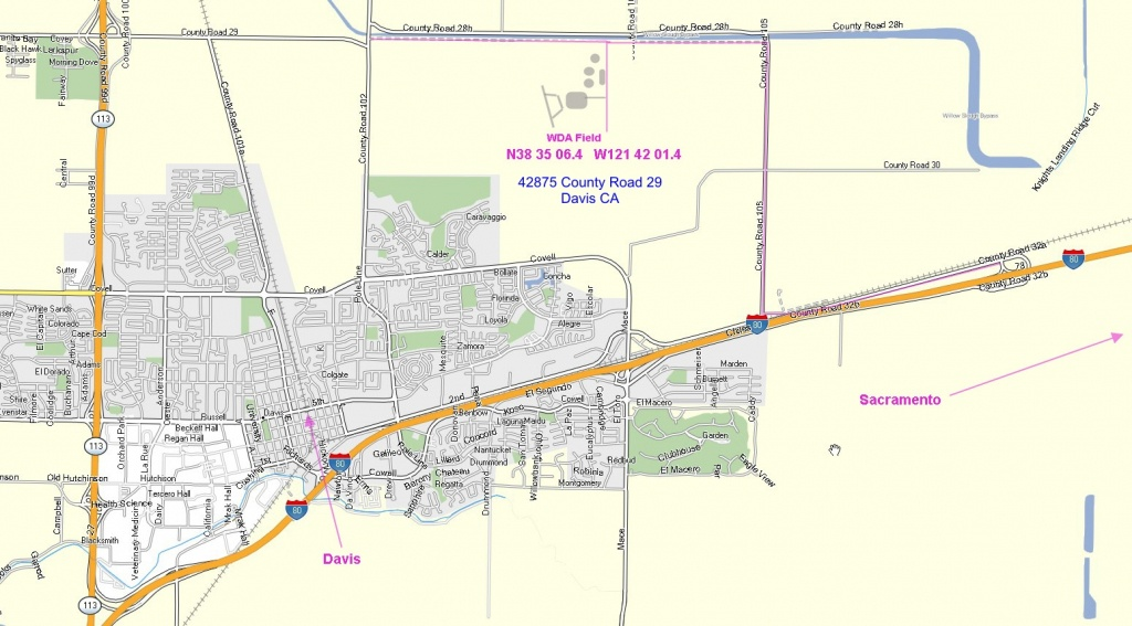 Davis Ca Map My Blog Best Of California - Touran - Davis California Map