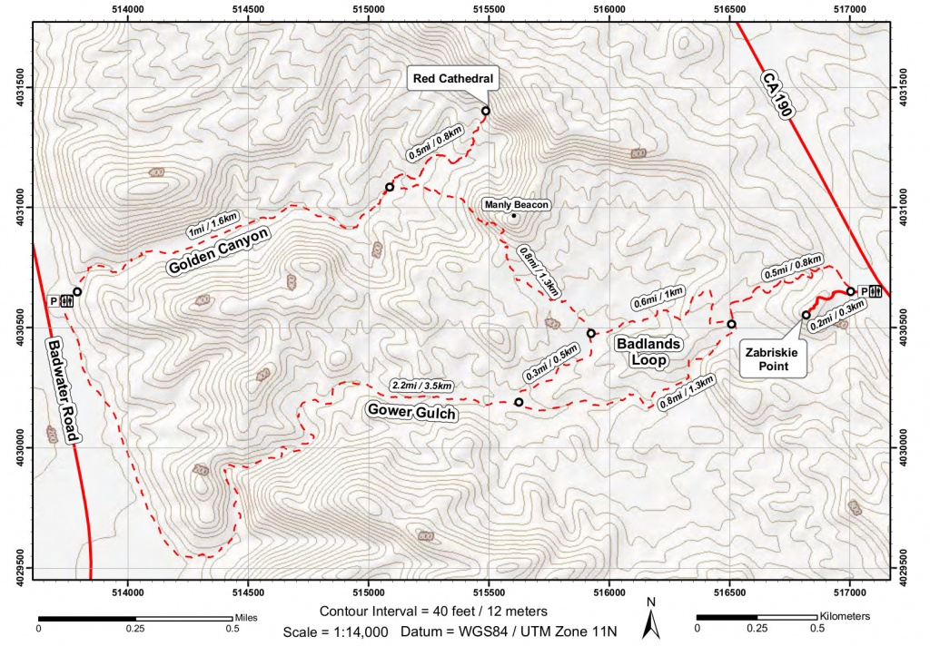 Death Valley Maps   Npmaps - Just Free Maps, Period. - Printable Hiking Maps