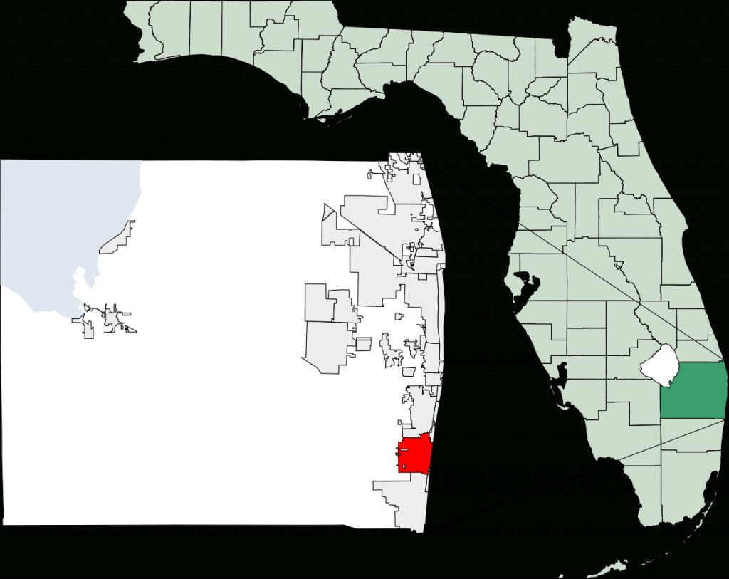 Delray Beach, Florida - Wikipedia - Sunrise Beach Florida Map
