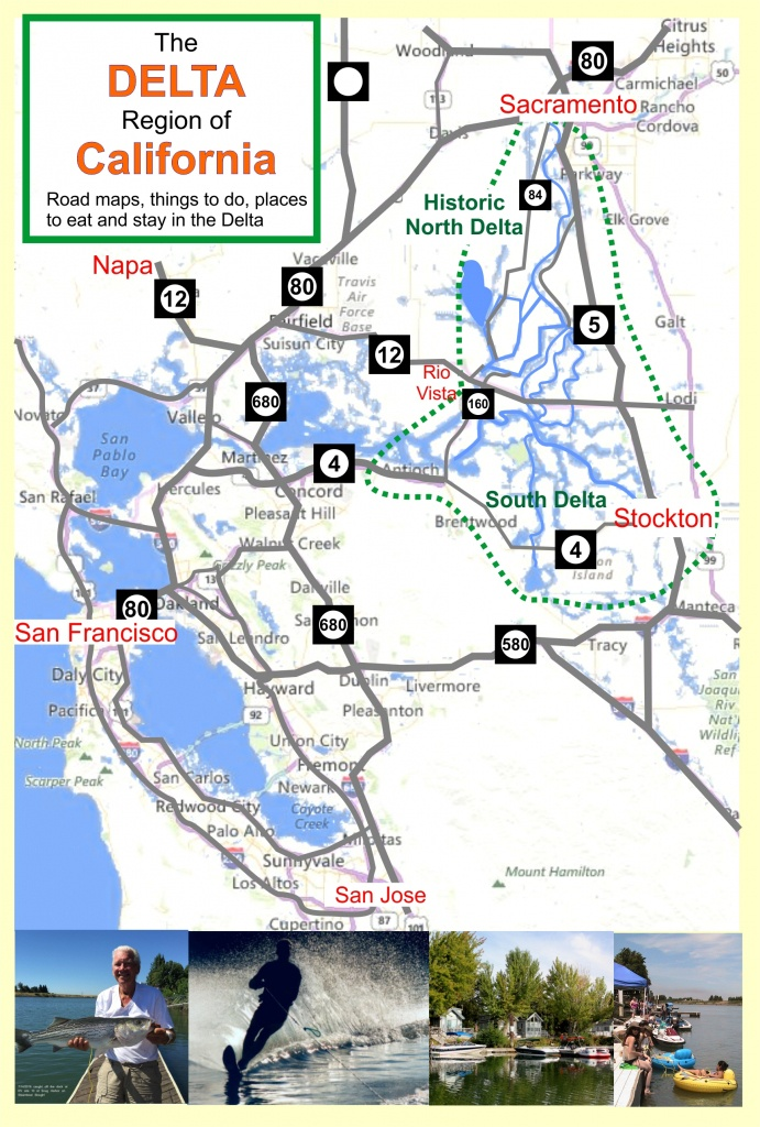 Deltacalifornia – Welcome To The Delta In Northern California - California Delta Map