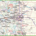 Denver Area Road Map   Denver City Map Printable