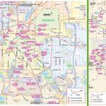 Denver Tourist Attractions Map   Denver City Map Printable