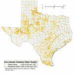 Desalination Documents   Innovative Water Technologies | Texas Water   Texas Water Development Board Well Map