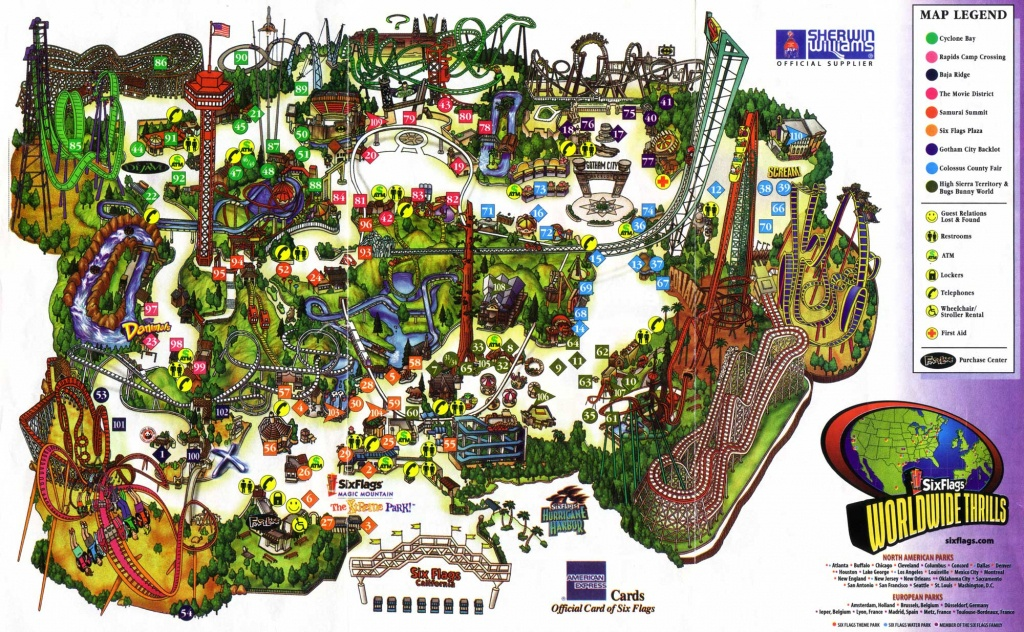 Designing Great Experiences: The Gap Between Activities — Ux - Six Flags Over Texas Map App