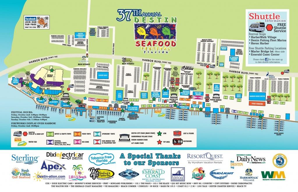 Destin Florida Map | Travel | Destin Florida Vacation, Destin - Map Of Destin Florida Area