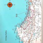 Destin To Panama City Top Spot Fishing Map, Keith Map Service, Inc.   Panama City And Destin Florida Map