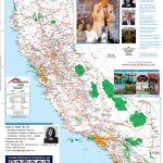 Detailed California Road / Highway Map   [2000 Pix Wide   3 Meg   Best Western Locations California Map