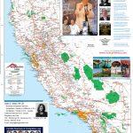 Detailed California Road / Highway Map   [2000 Pix Wide   3 Meg   Detailed Map California