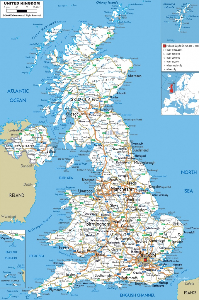 Detailed Road Map Of England ~ Afp Cv - Printable Road Maps Uk