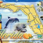 Detailed Tourist Map Of Florida State. Florida State Detailed   Florida Tourist Map