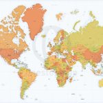 Detailed World Map Mercator Europe Africa | Maps Of World | Detailed   Detailed World Map Printable