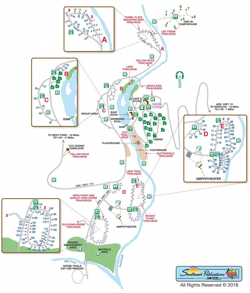 Devil\'s Den Map   Country Map - Devil's Den Florida Map
