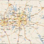 Dfw Metroplex Map   Dallas Fort Worth Metroplex Map (Texas   Usa)   Printable Map Of Dallas Fort Worth Metroplex