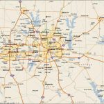 Dfw Metroplex Map   Map Of Dfw Metroplex Area (Texas   Usa)   Printable Area Maps