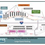 Directions And Parking   St. Joseph's Health Amphitheater At   Mid Florida Amphitheater Parking Map