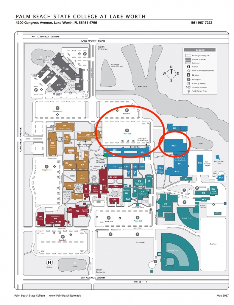 Directions - Emc Medical Training - State College Of Florida Bradenton Campus Map