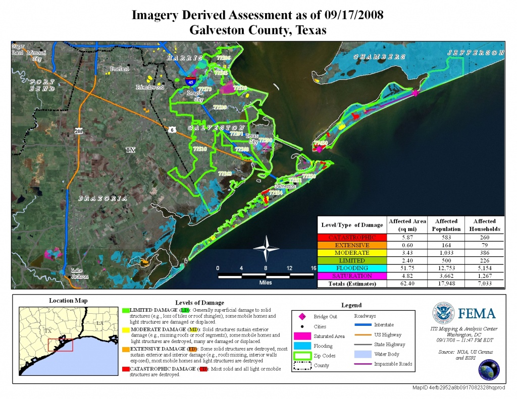 Disaster Relief Operation Map Archives - Crystal Beach Texas Map
