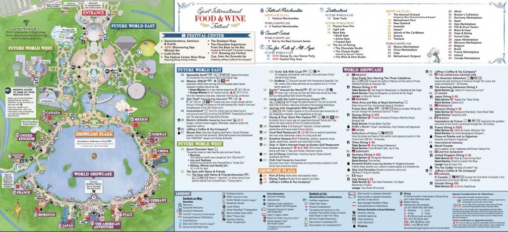 Disney World Epcot Map Fresh Walt Disney World Epcot Map 2017 Idée - Printable Map Of Epcot 2015
