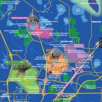 Disney World Map   Map Of Theme Parks In Florida