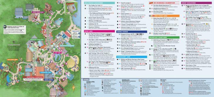 Walt Disney World Park Maps Printable