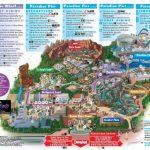 Disneyland California Adventure Park Map   Park Maps Disneyland Park   California Adventure Map 2017