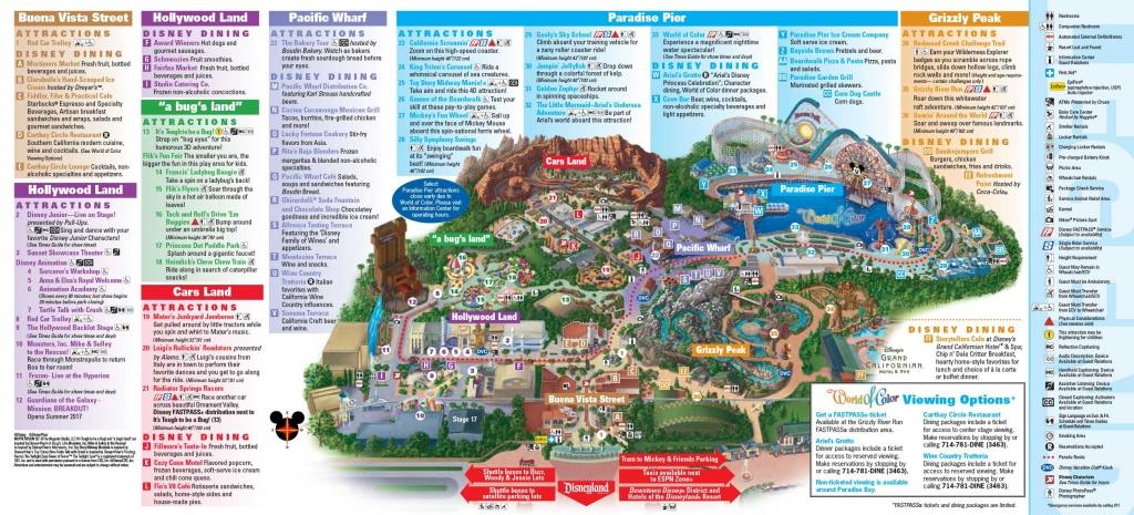 Disneyland California Map | Download Them And Print - Disney World California Map