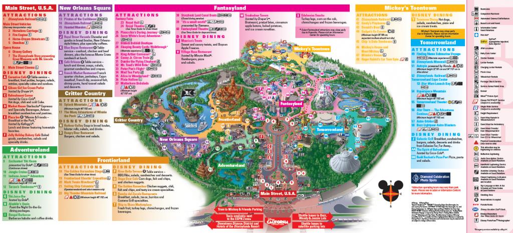 Disneyland Map - Sensing Change Blog - Printable Disneyland Map 2014
