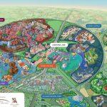 Disneyland Paris Map | Summer 2019 (France & Spain) In 2019 | Disney   Printable Disneyland Paris Map 2018