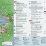 Disney's Animal Kingdom Map Theme Park Map   Printable Magic Kingdom Map 2017
