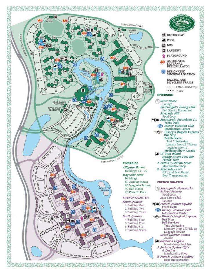 Printable French Quarter Map