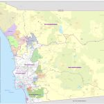 District Maps   San Diego County Zip Code Map Printable