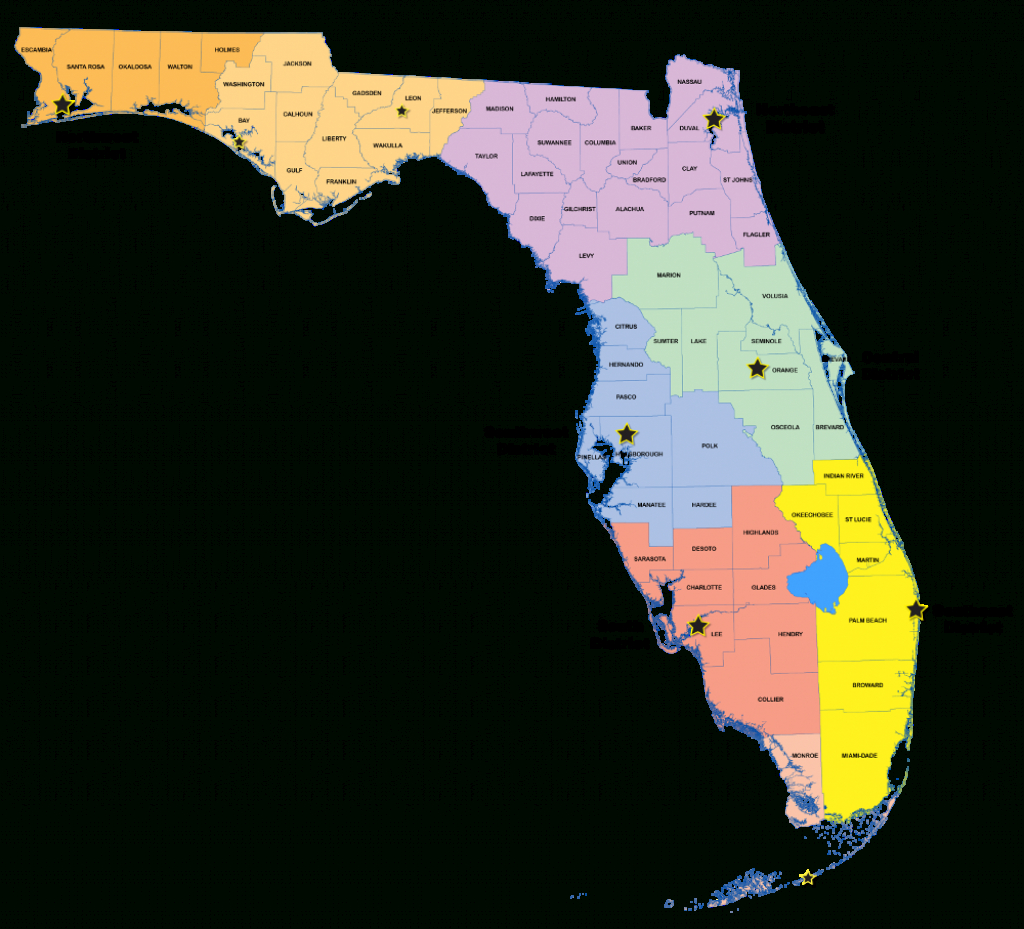 Districts   Florida Department Of Environmental Protection - Northwest Florida Water Management District Map