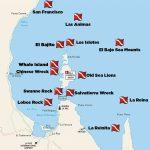 Dive Sites La Paz   Divers Inn Mx | B&b For Diversdivers | La   La Paz Baja California Map