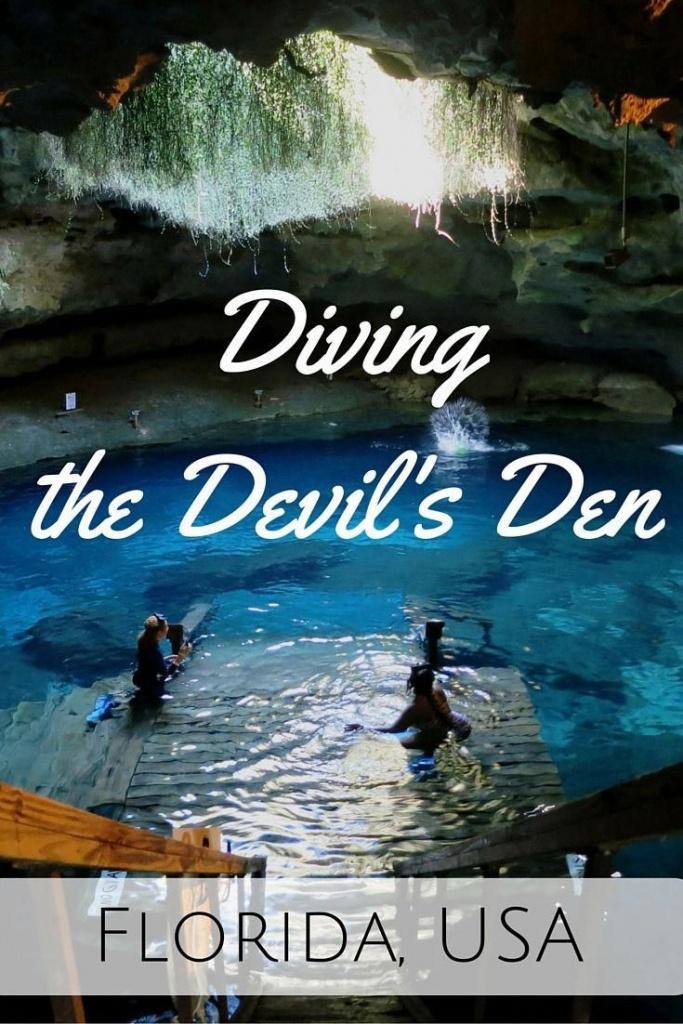 Diving The Devil's Den - Florida, Usa - World Adventure Divers Video - Devil's Den Florida Map
