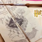 Diy Harry Potter Marauder's Map Printable And Parchment Easy Diy   Harry Potter Marauders Map Printable