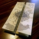 Diy Harry Potter Marauders Map Tutorial And Printable From   Marauders Map Template Printable