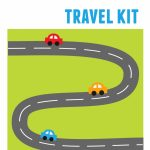 Diy Kids' Travel Binder + Free Printable Road Trip Games   Printable Road Maps For Kids