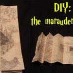 Diy: Marauders Map!   Youtube   Marauders Map Template Printable
