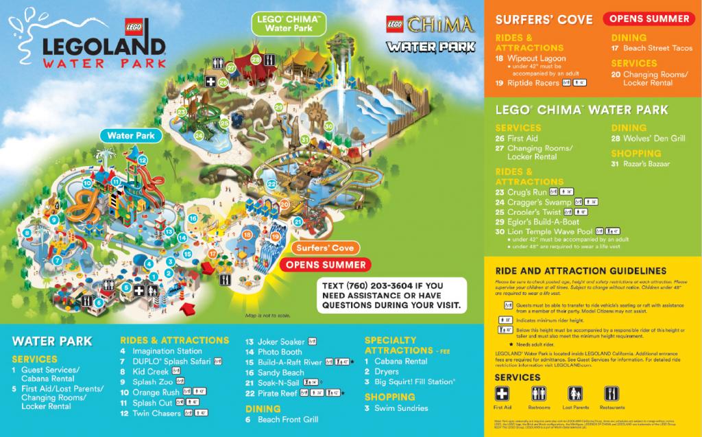 Do You Have A Map Of The Water Park? – Legoland® California Theme - Legoland Florida Map