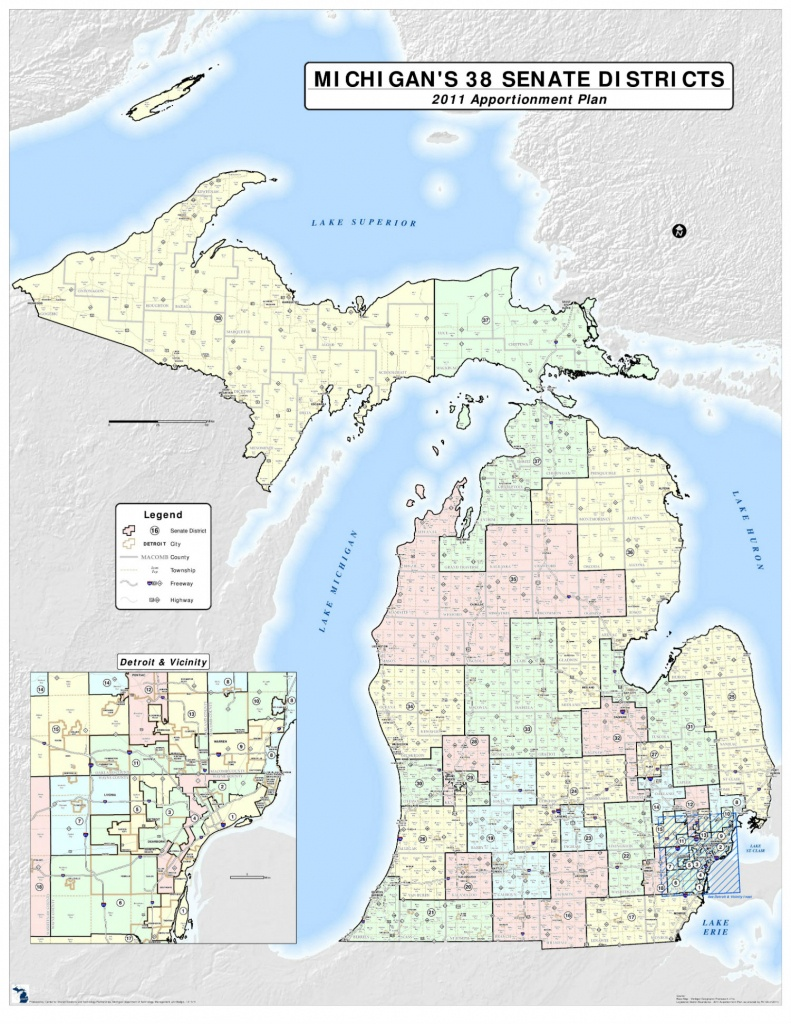 Do You Know What Michigan Senate And House Districts You Live In? - Texas State Senate District 10 Map